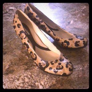 Naturalizer Animal Cheetah Print Heels 8